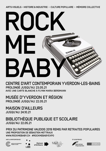 Affiche Rock Me Baby 2020-2021